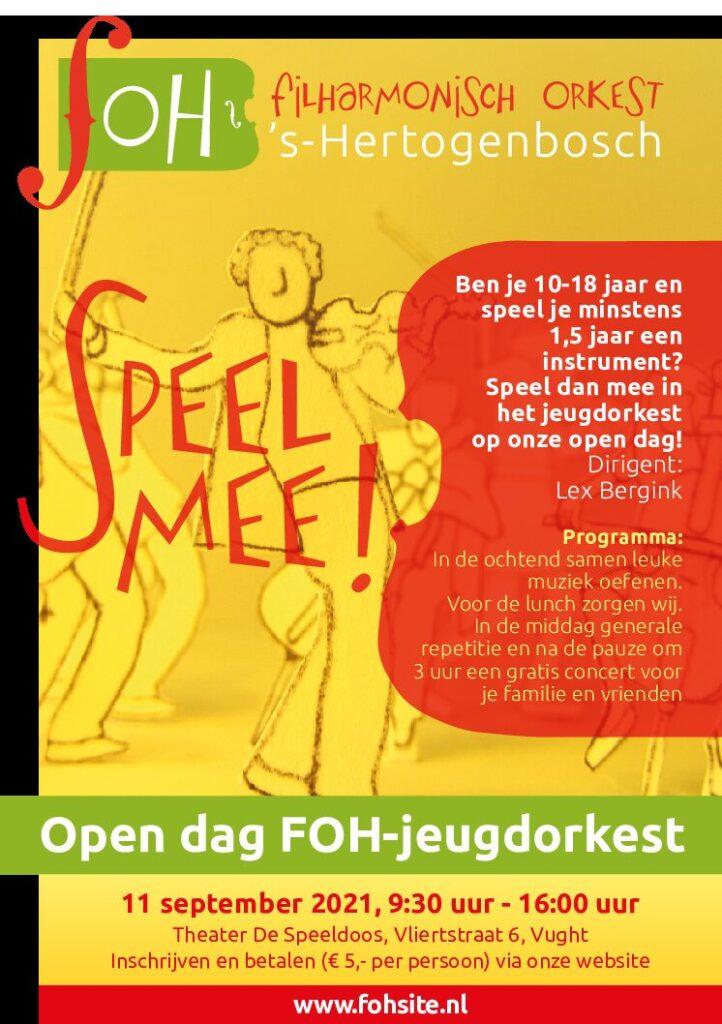 Open dag van het jeugdorkest van het Filharmonisch Orkest 's-Hertogenbosch (FOH)